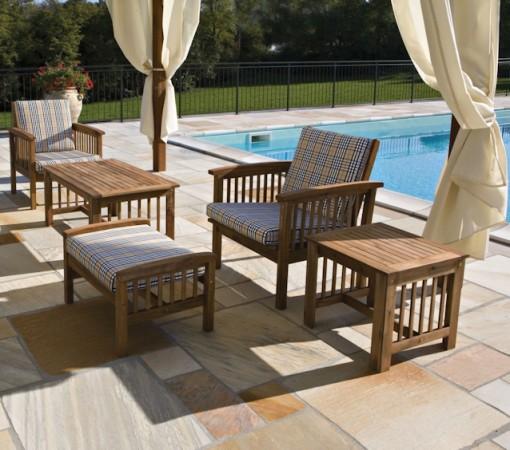 Arredamento da esterno per il giardino e la piscina i prezzi for Il ceppo arredo giardino prezzi