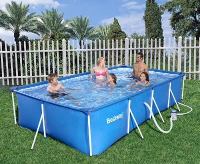 Piscina in struttura metallica FAMILY SPLASH FRAME POOL